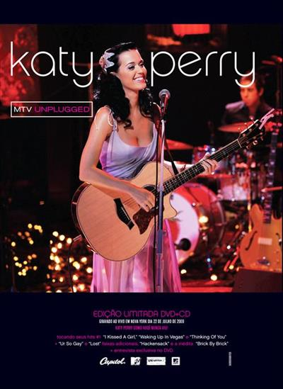 b74a5183 ae11 4752 8f3c b08f3484643d Katy Perry MTV Unplugged DVD